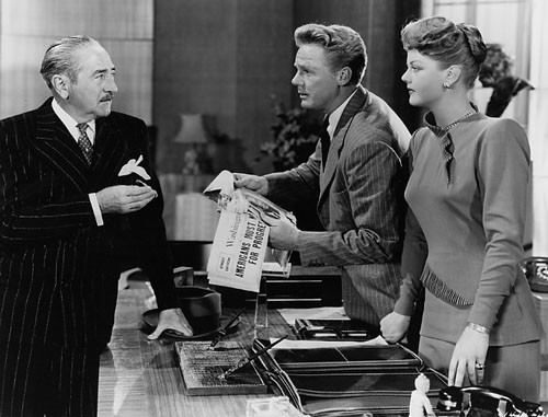 Adolphe Menjou, Van Johnson, Angela Lansbury in State of the Union