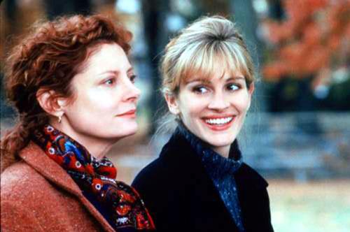 Susan Sarandon, Julia Roberts in Stepmom