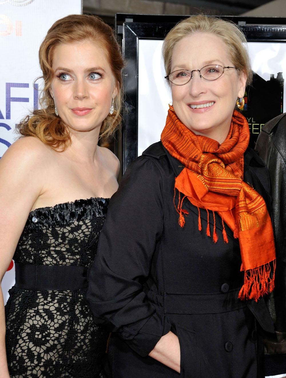 Amy Adams, Meryl Streep