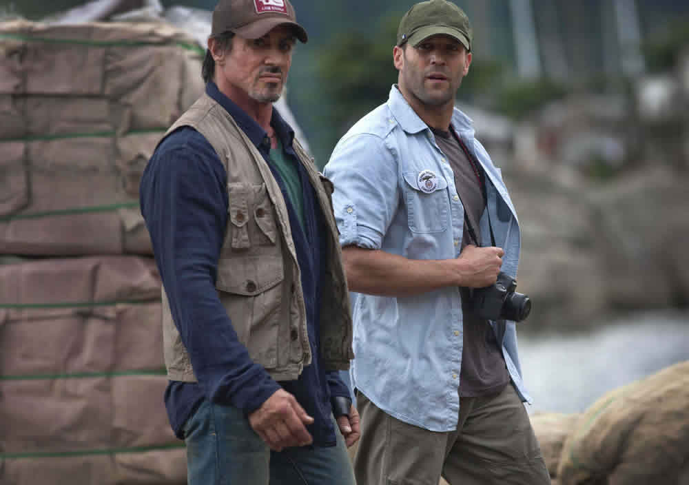 Sylvester Stallone, Jason Statham, The Expendables