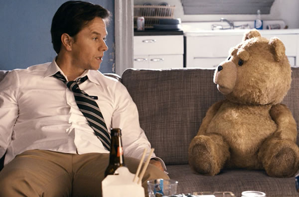 Ted movie box office Mark Wahlberg Teddy Bear
