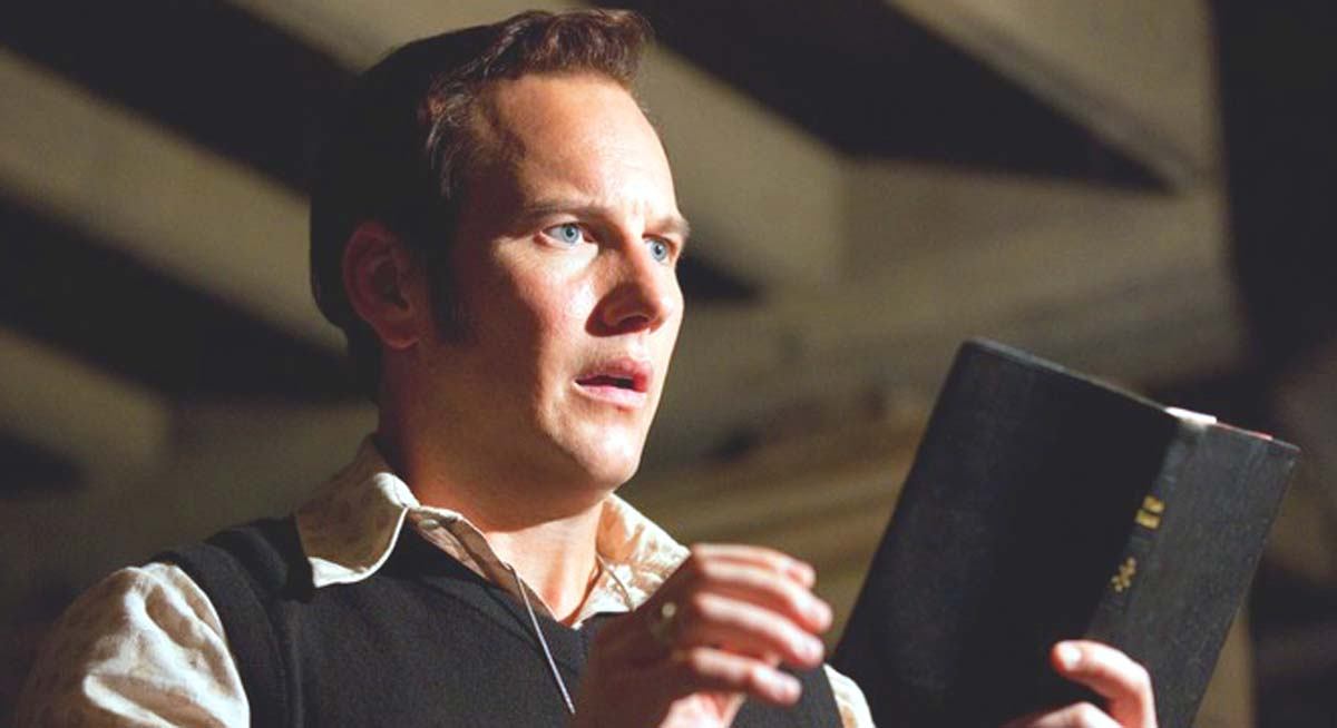 The Conjuring movie Patrick Wilson paranormal investigator