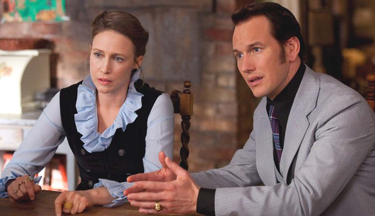 The Conjuring true story Vera Farmiga Patrick Wilson