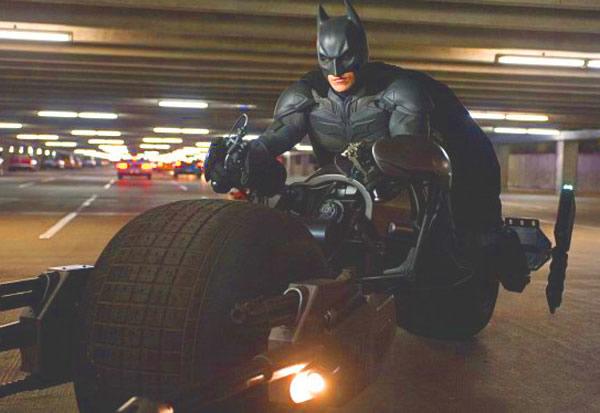 The Dark Knight Rises Batman 3 Batpod