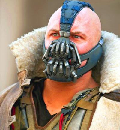 The Dark Knight Rises box office Bane mask