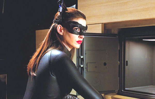 The Dark Knight Rises Catwoman box office Anne Hathaway