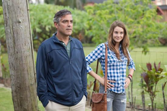 George Clooney, Shailene Woodley, The Descendants