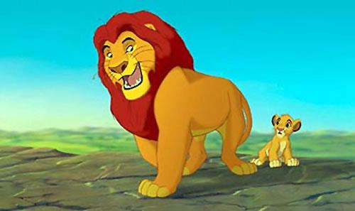 The Lion King, Musafa, Simba