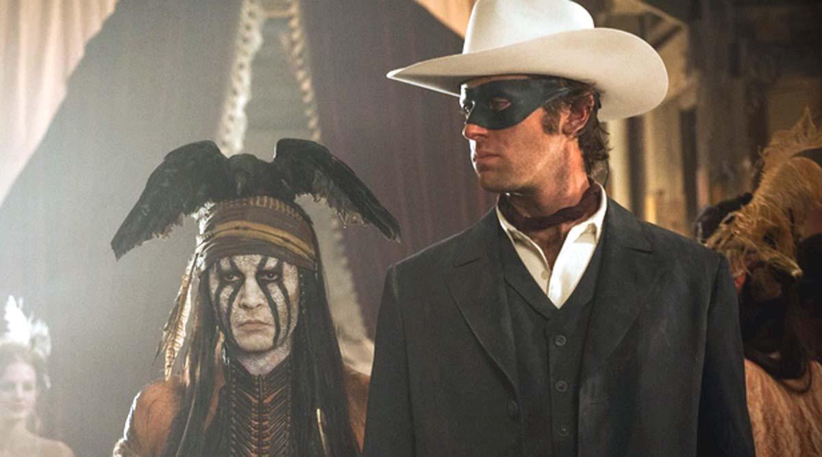 The Lone Ranger Johnny Depp Tonto Armie Hammer