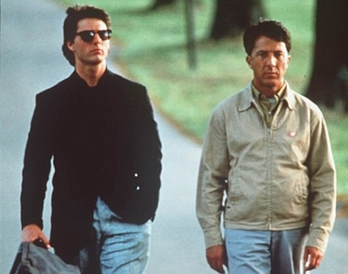 Tom Cruise, Dustin Hoffman, Rain Man
