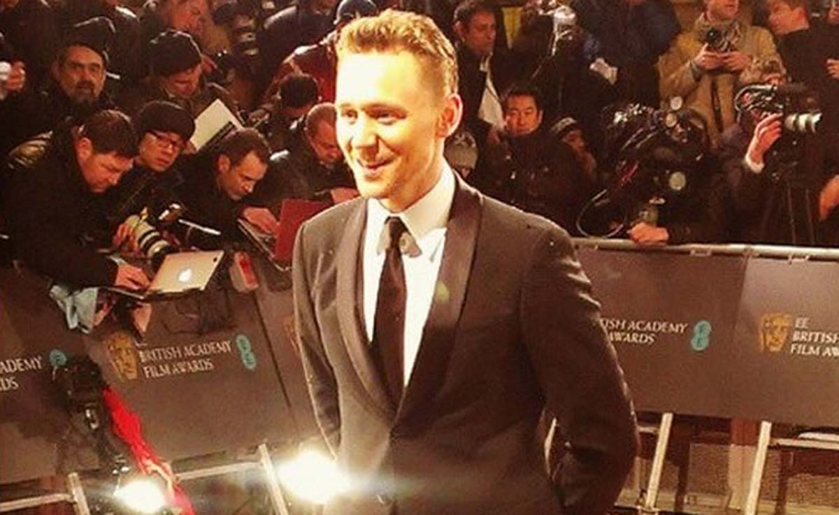 Tom Hiddleston BAFTA 2013
