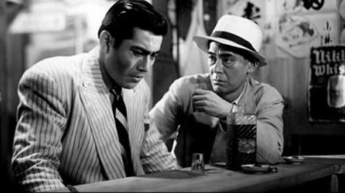 Toshiro Mifune, Reisaburo Yamamoto, Drunken Angel, Akira Kurosawa