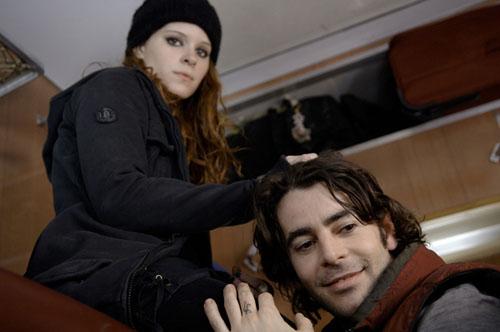 Eduardo Noriega, Kate Mara in Transsiberian