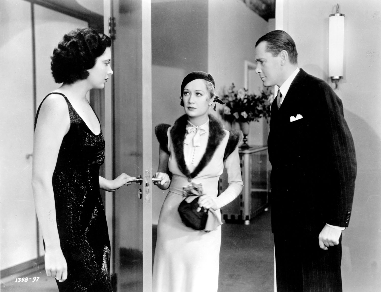 Kay Francis, Miriam Hopkins, Herbert Marshall in Trouble in Paradise