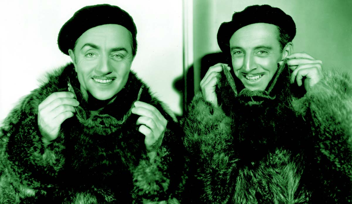 William Powell Double Wedding movie stand-in