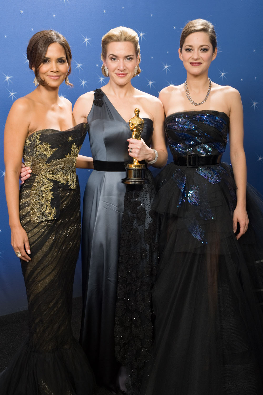 Halle Berry, Kate Winslet, Marion Cotillard