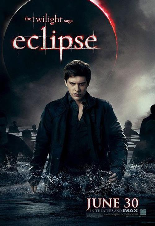 Xavier Samuel as Riley, newborn vampire army Eclipse poster