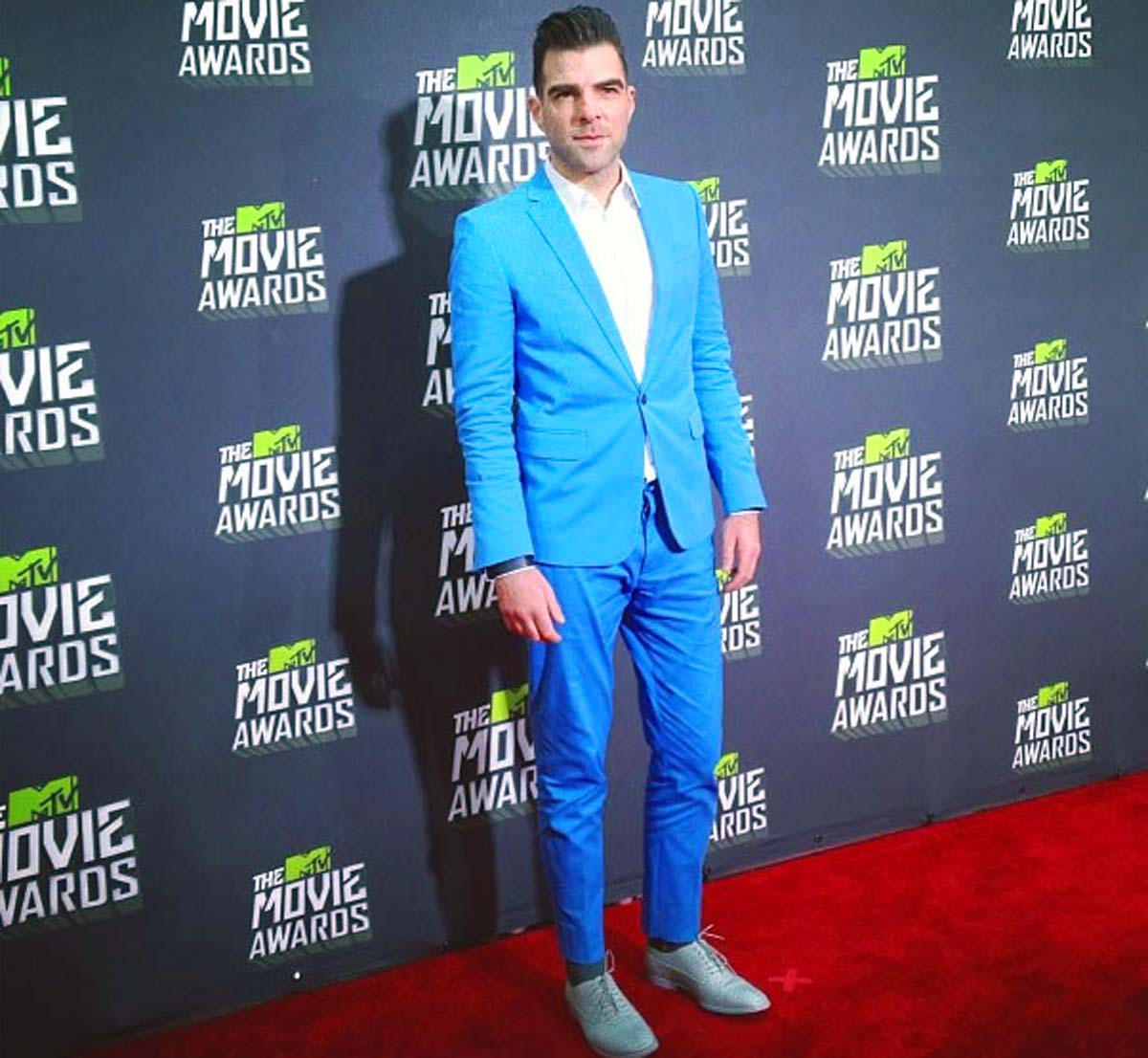 Zachary Quinto MTV Movie Awards 2013