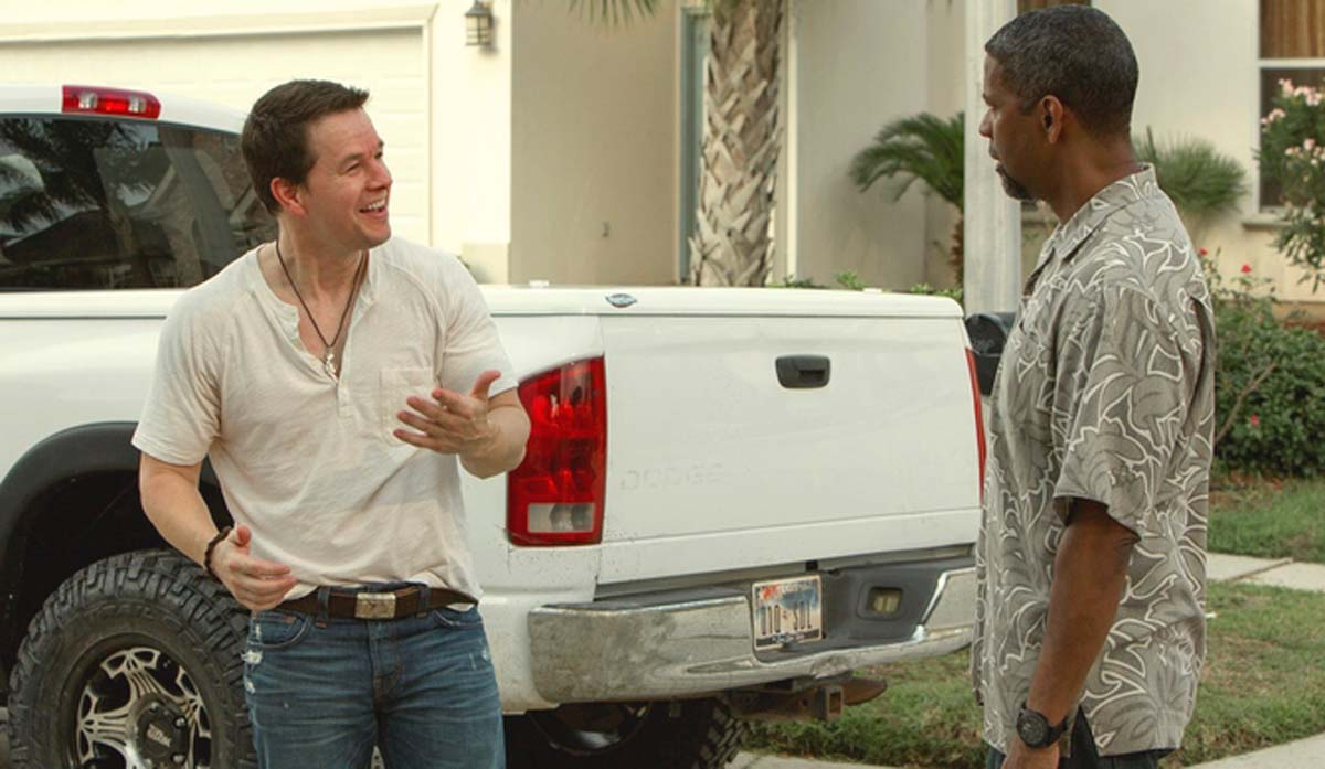 Denzel Washington Mark Wahlberg 2 Guns