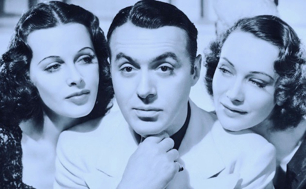 Hedy Lamarr Algiers Charles Boyer Sigrid Curie: Hollywood film debut