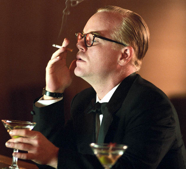 Capote Philip Seymour Hoffman: Gay author drama selected instead of gay cowboy romance