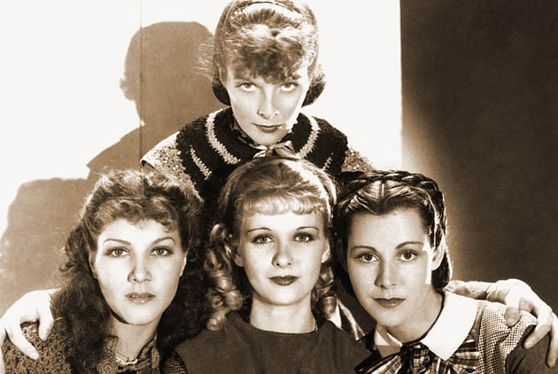 Jean Parker Little Women Katharine Hepburn Joan Bennett Frances Dee: Long careers