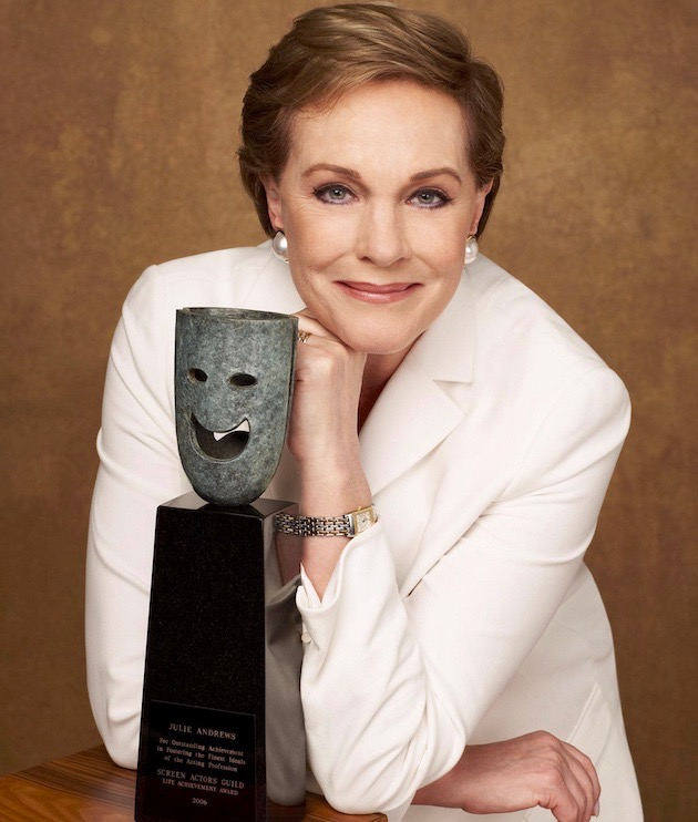 Julie Andrews SAG Awards Life Achievement Honor recipient: British dames rule