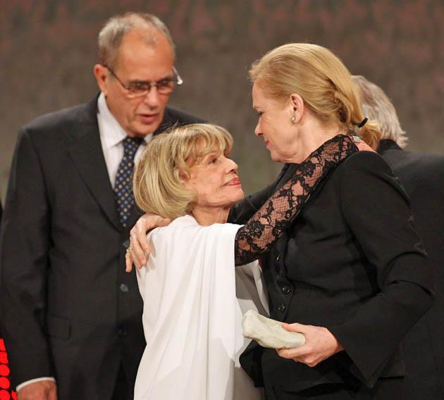 Jeanne Moreau Liv Ullmann Jörn Donner: European Film Awards icons never worked together