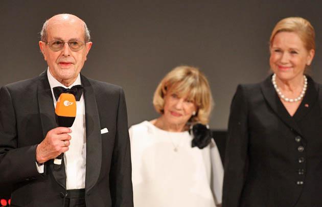 Manoel de Oliveira Jeanne Moreau Liv Ullmann: European Film Awards Honorary Award recipient