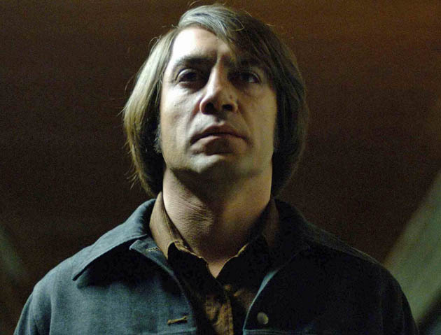 No Country for Old Men Javier Bardem. Steely-eyed assassin Best Supporting Actor favorite