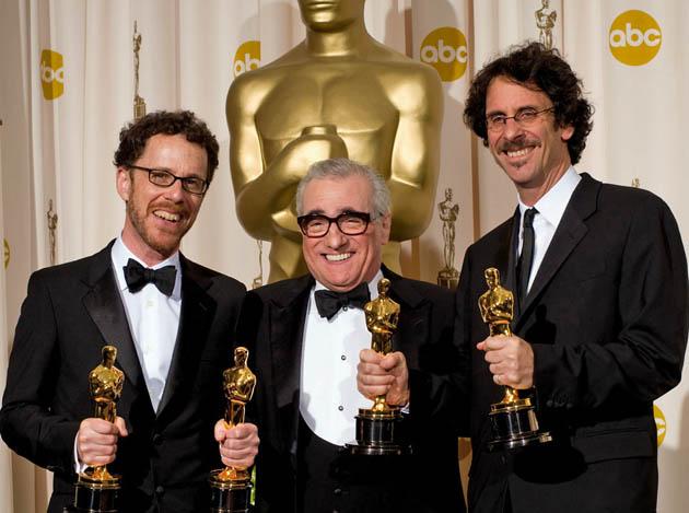 Joel Coen Ethan Coen Martin Scorsese double Oscar winners