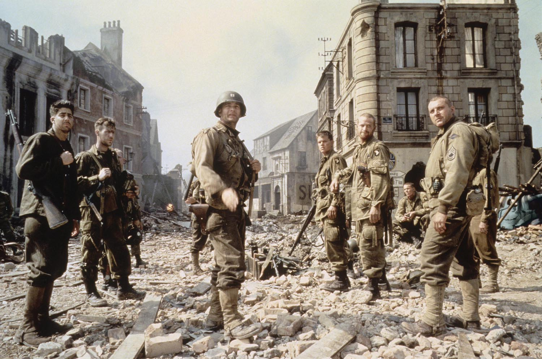 Saving Private Ryan Tom Hanks Tom Sizemore Matt Damon