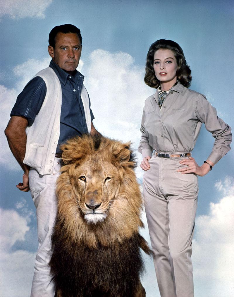 William Holden, Capucine in The Lion