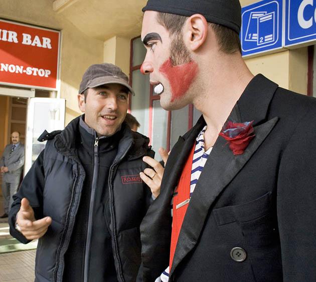 Jalil Lespert Marco Pontecorvo Romanian immigrant Pa-ra-da set