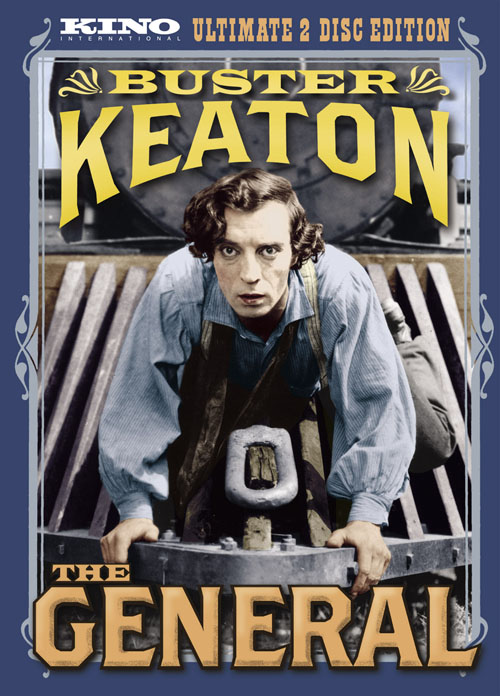 The General of the Army: Buster Keaton + Train