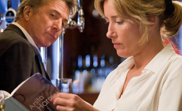 Last Chance Harvey Emma Thompson Dustin Hoffman. 2 2-time Oscar winners in Palm Springs