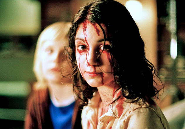Let the Right One In Lina Leandersson Kåre Hedebrant. US Critics Best Foreign Language Film