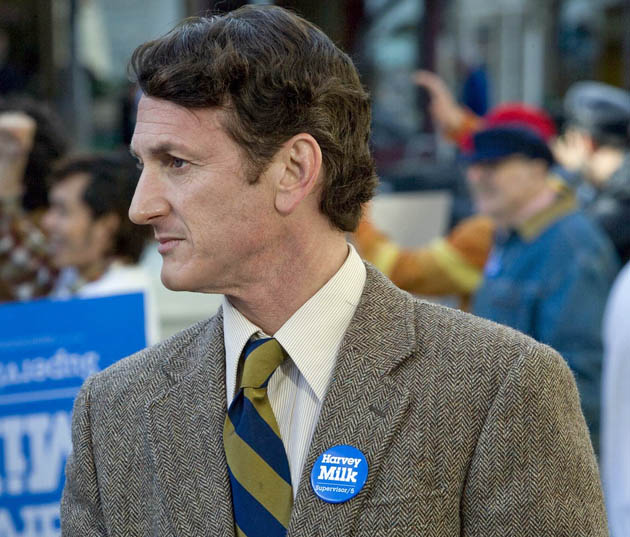 Milk Sean Penn as Harvey Milk. Gay politician shot dead + justice did not prevail