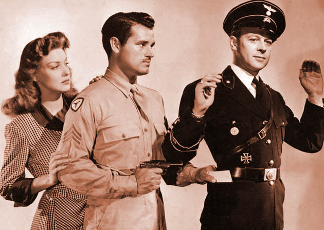 The Unwritten Code Ann Savage Tom Neal Roland Varno: Detour actors in Anti-Nazi thriller