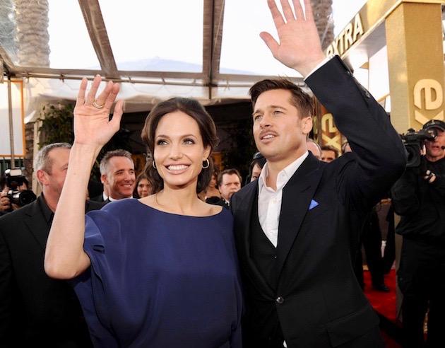 Angelina Jolie Brad Pitt: Partners in life + SAG Awards' nominees