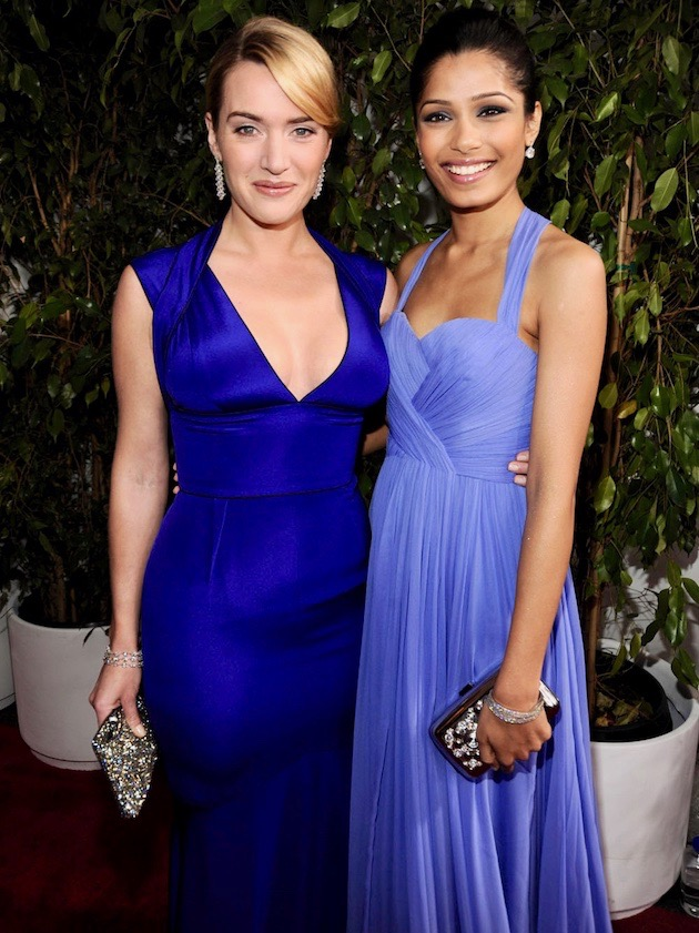 Kate Winslet Freida Pinto: SAG Awards' expected + surprising winners