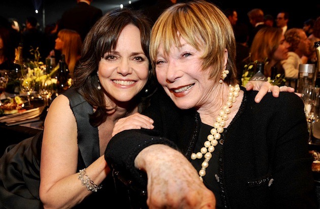 Sally Field Shirley MacLaine SAG Awards: Veteran winner + Coco Chanel loser