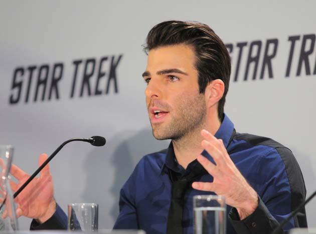 Zachary Quinto Star Trek Premiere
