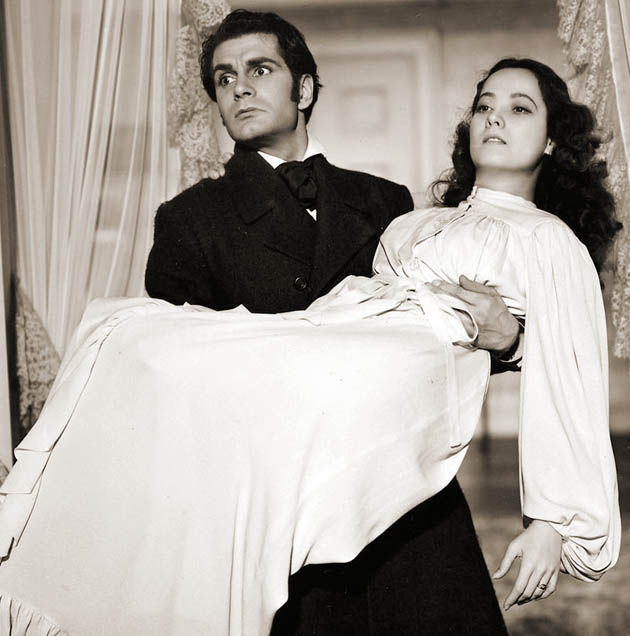 Wuthering Heights Cathy Merle Oberon Heathcliff Laurence Olivier death scene memorable for different reasons