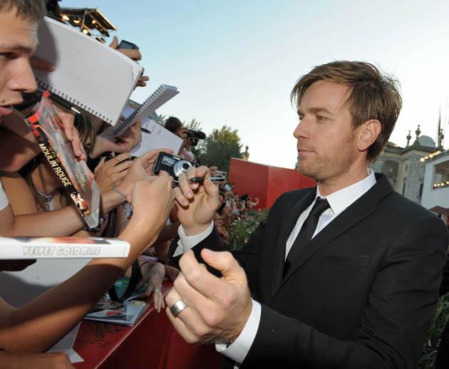 Ewan McGregor Venice Film Festival