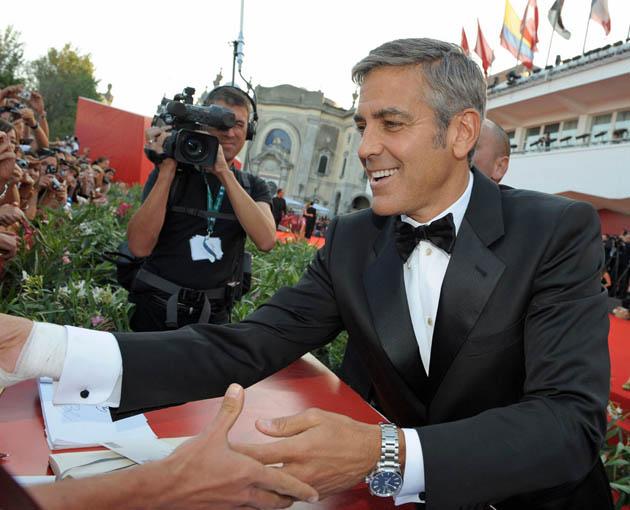 George Clooney Venice Film Festival