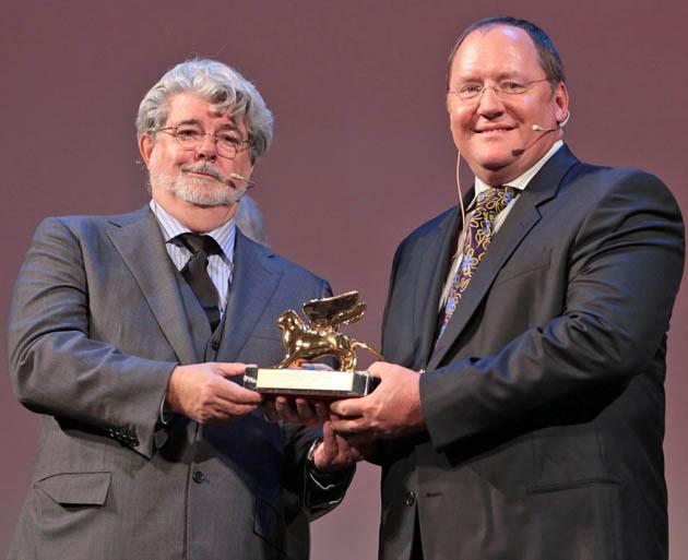 George Lucas John Lasseter