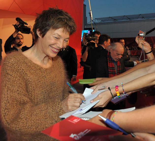 Jane Birkin Venice Film Festival