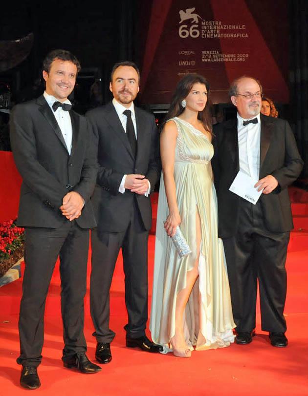 Salman Rushdie Doru Boguta Bobby Paunescu Monica Barladeanu