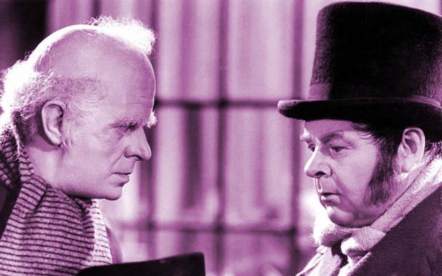 A Christmas Carol Reginald Owen as Scrooge Gene Lockhart as Bob Cratchit: What Christmas cheer?